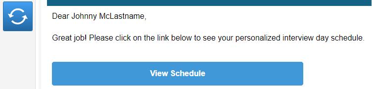 screenshot of message preview window